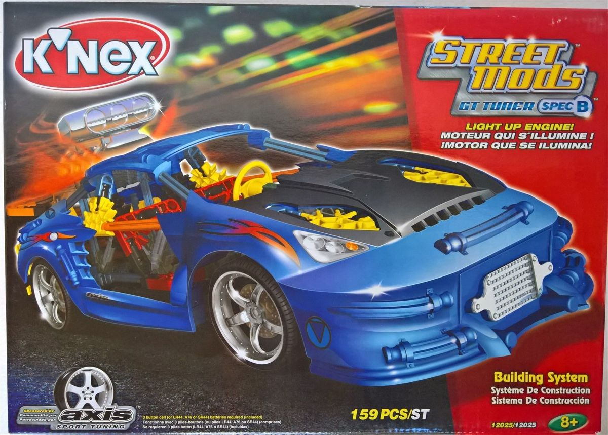 ~ Knex - STREET MODS GT TONER SPEC B + LIGHT UP ENGINE