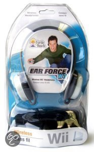 Wii Ear Force W3 Headphone NintendoWii Turtle Beach Accessoires