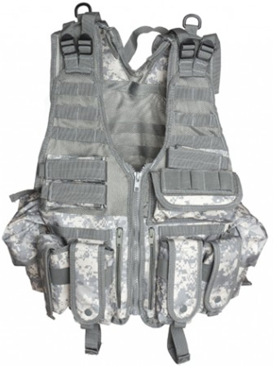 TACTICAL AIRSOFT VEST