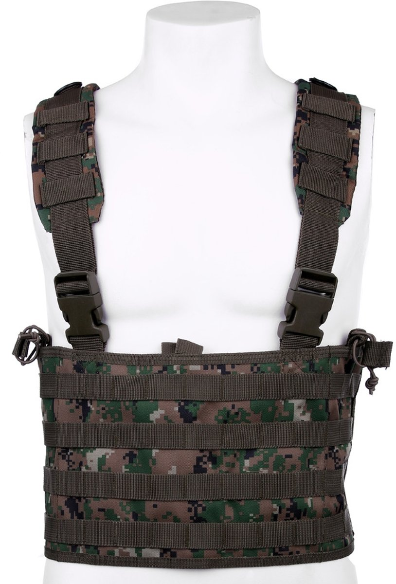 101inc Chest rig Recon digital WDL camo