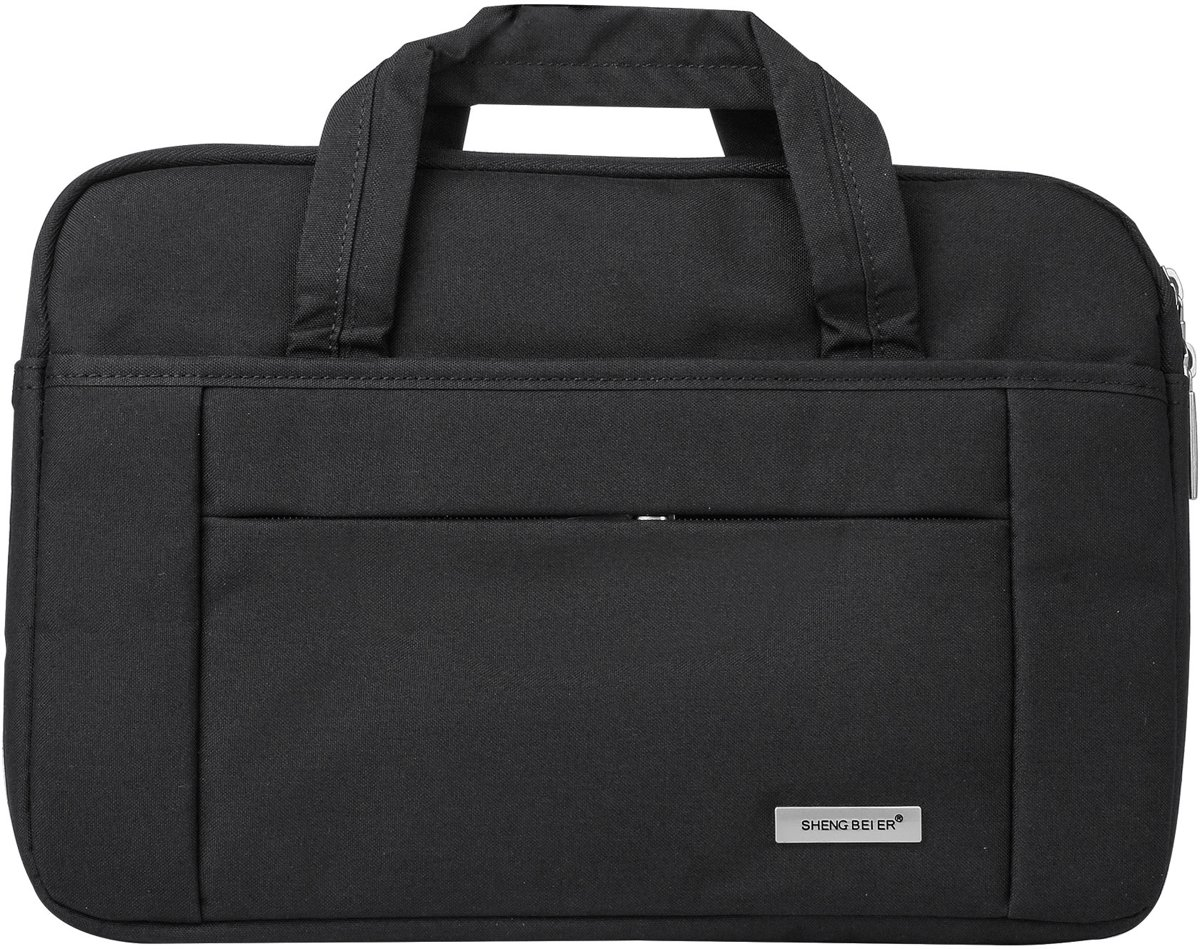 Universeel 14 inch Laptoptas Smooth - Zwart