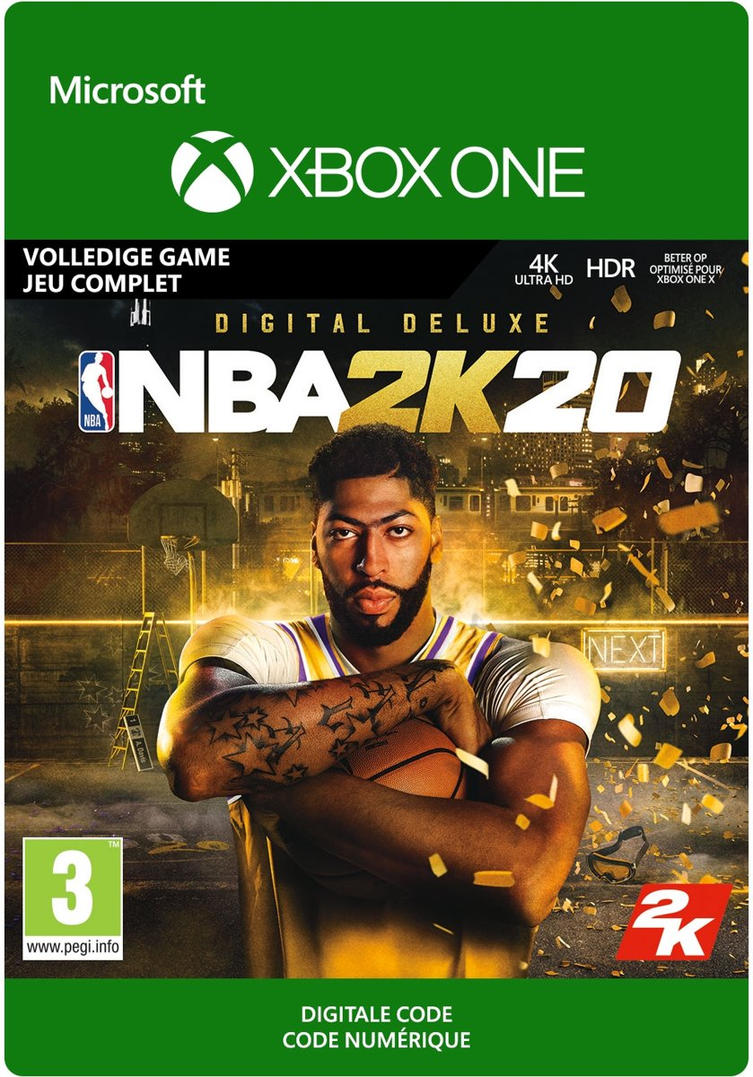 NBA 2K20: Digital Deluxe - Xbox One