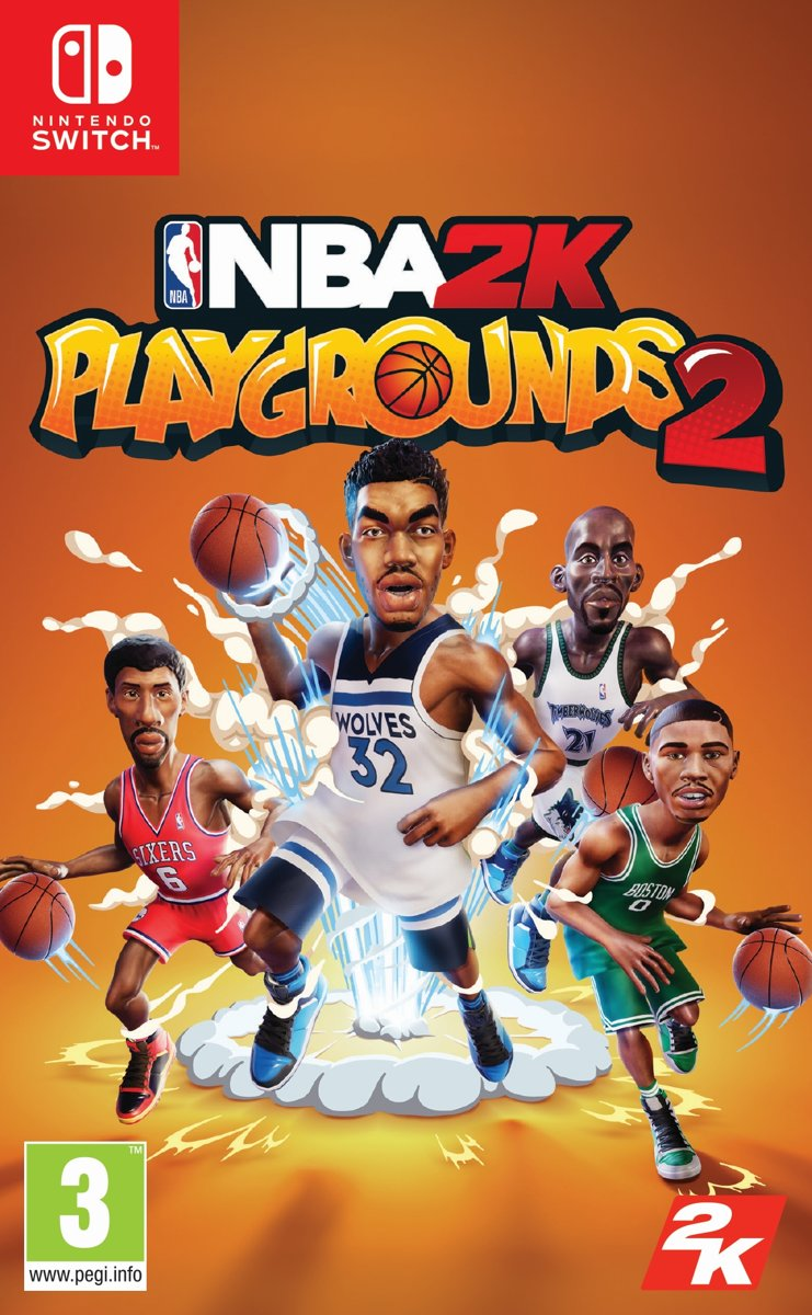 NBA2K - Playgrounds 2- Nintendo Switch