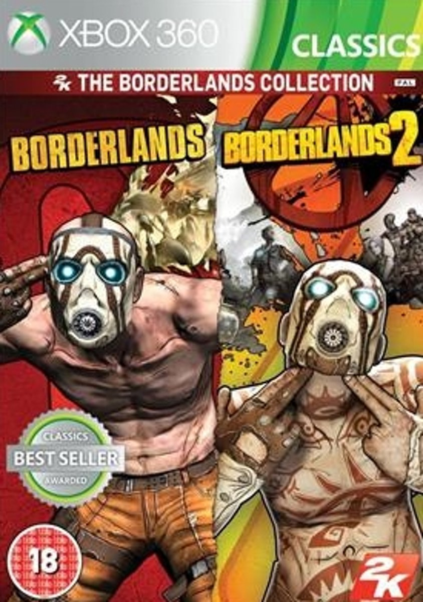 2K Borderlands Collection, Xbox 360 Xbox 360 video-game
