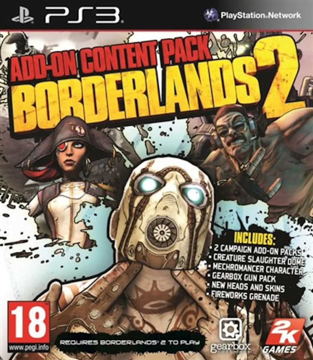Borderlands 2 Add On (PS3)