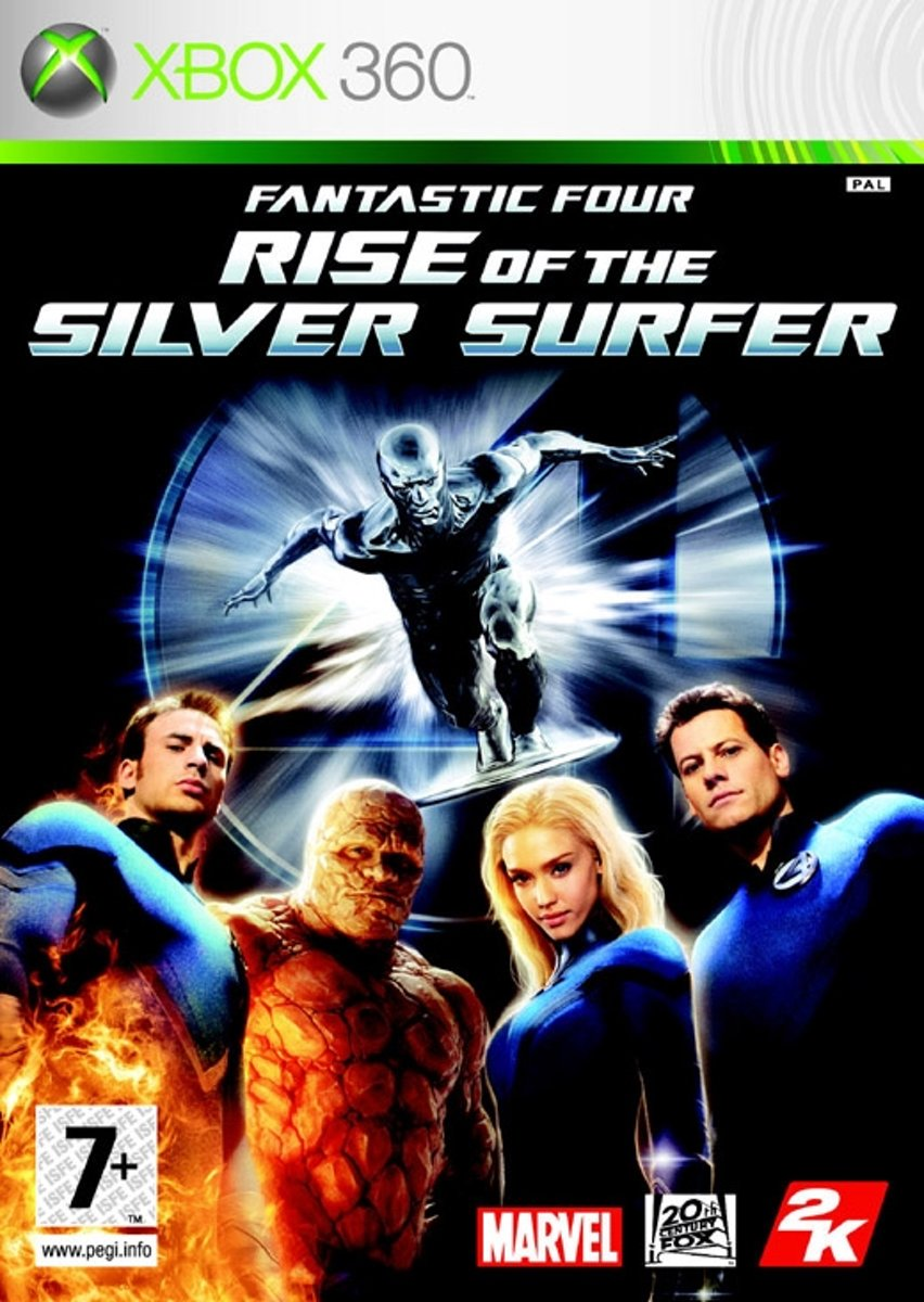 Fantastic 4: Rise of Silver Surfer /X360