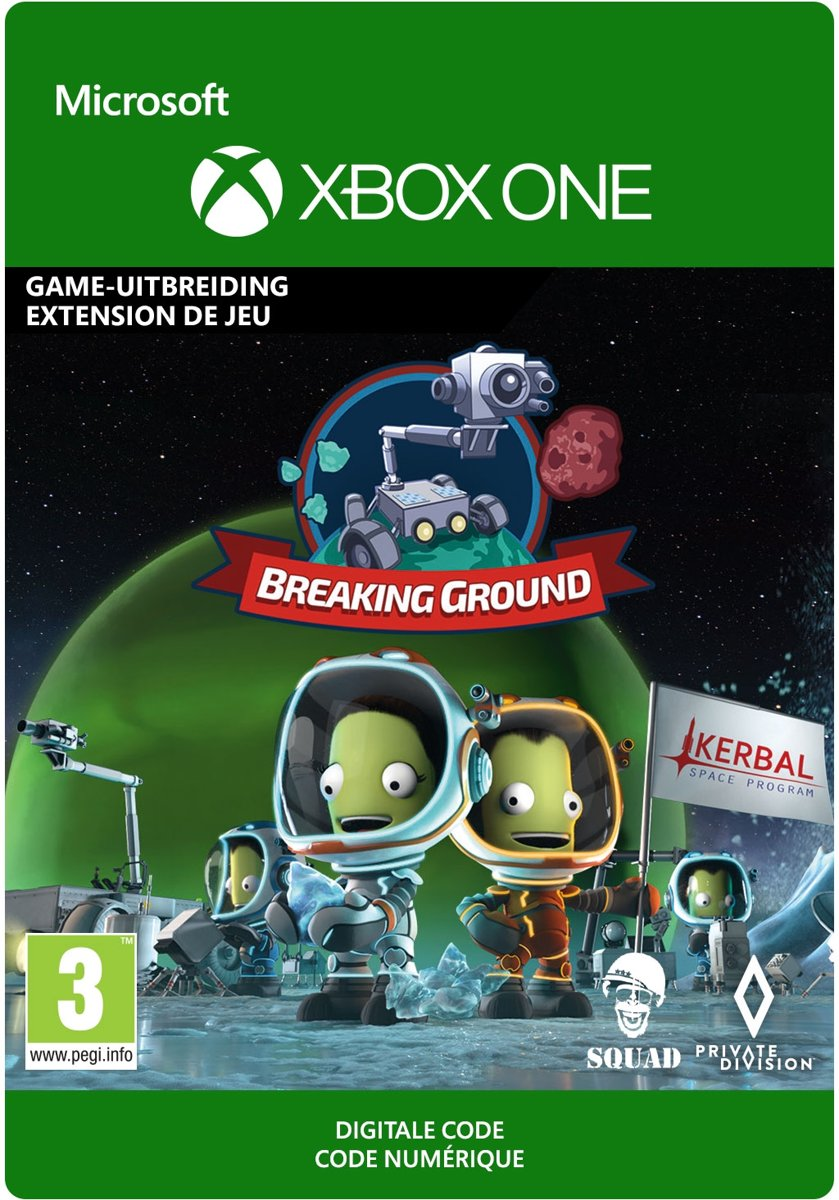 Kerbal Space Program: Breaking Ground - Add-On - Xbox One Download