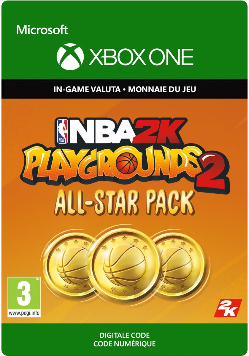 NBA   Playgrounds   All-Star Pack – 16,000 VC - Xbox One Download - Consumable