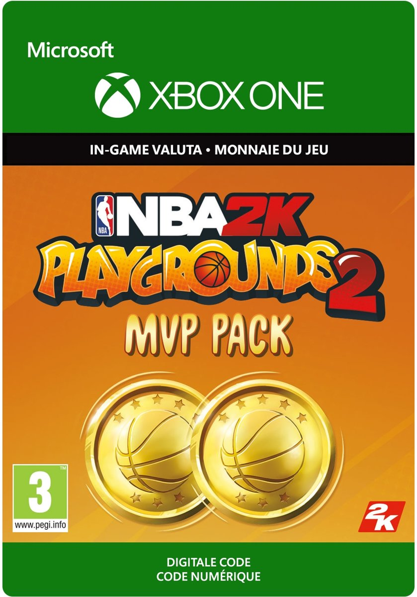 NBA   Playgrounds   MVP Pack – 7,500 VC - Xbox One Download - Consumable