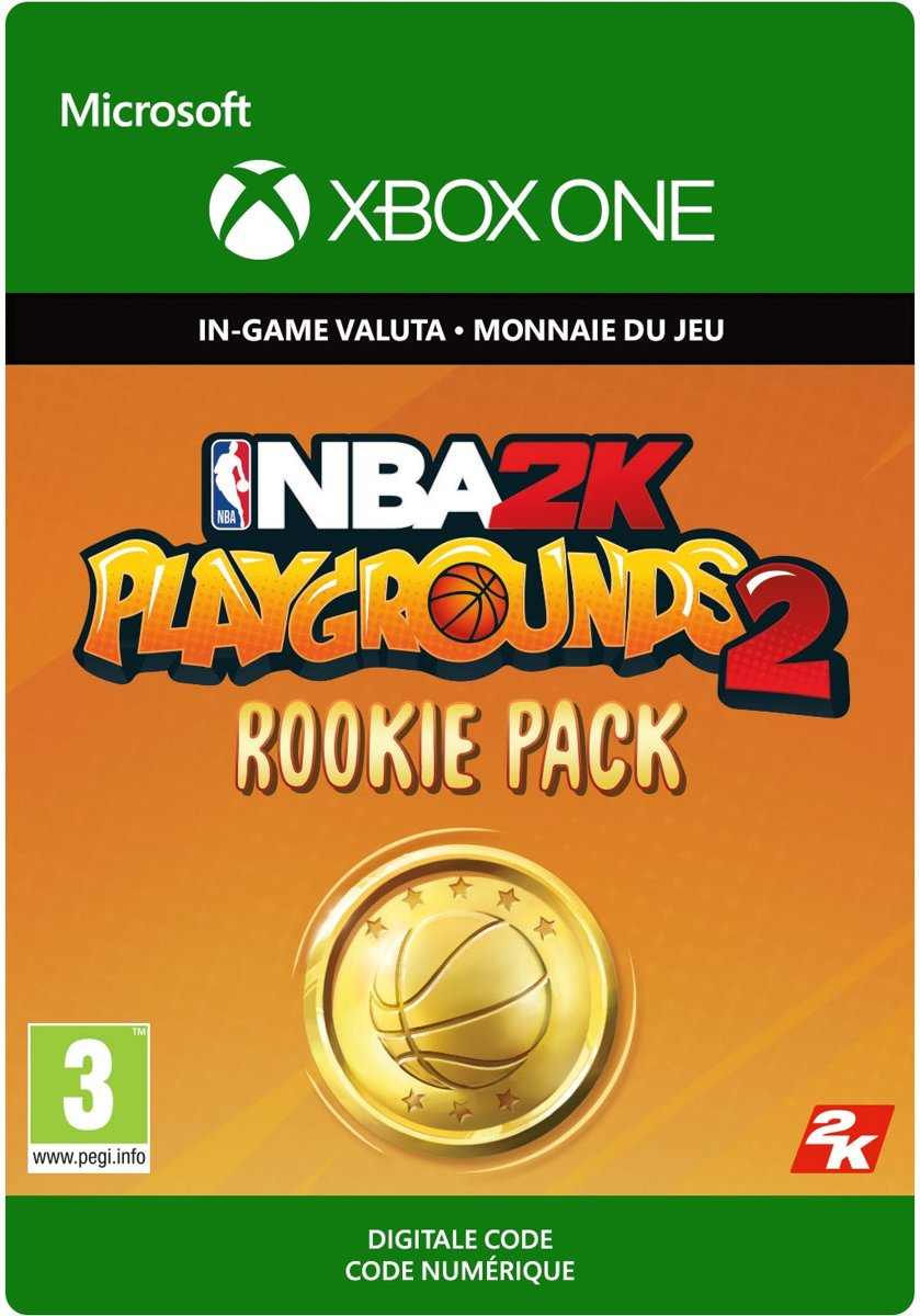 NBA Playgrounds   Rookie Pack – 3,000 VC - Xbox One Download - Consumable