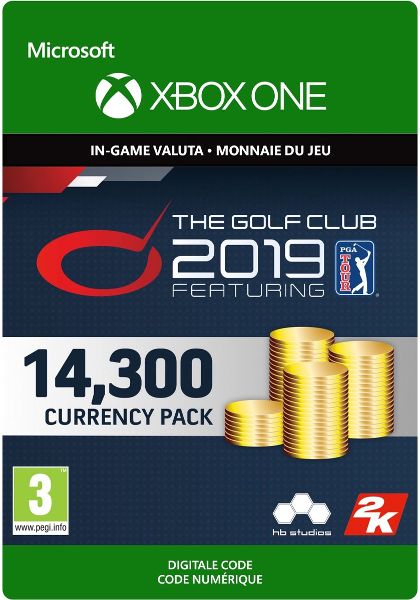 The Golf Club 2019 feat. PGA TOUR - 14,300 Currency - Xbox One Download