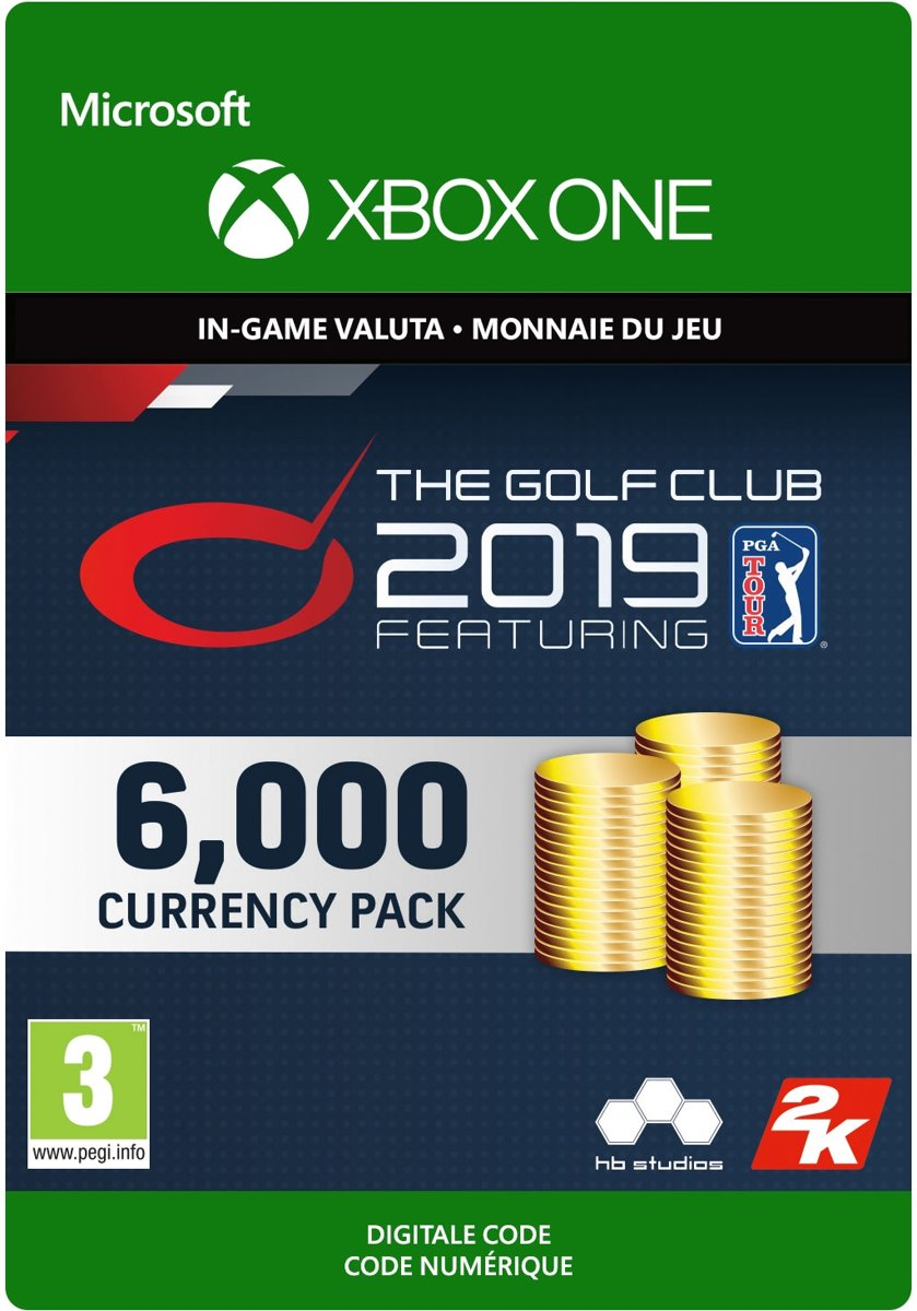 The Golf Club 2019 feat. PGA TOUR - 6,000 Currency - Xbox One Download