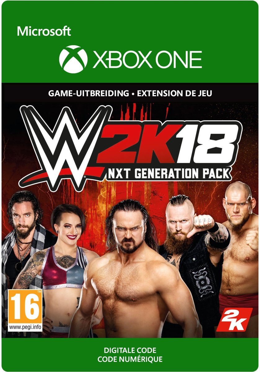 WWE  18 - NXT Generation Pack - Add-On - Xbox One