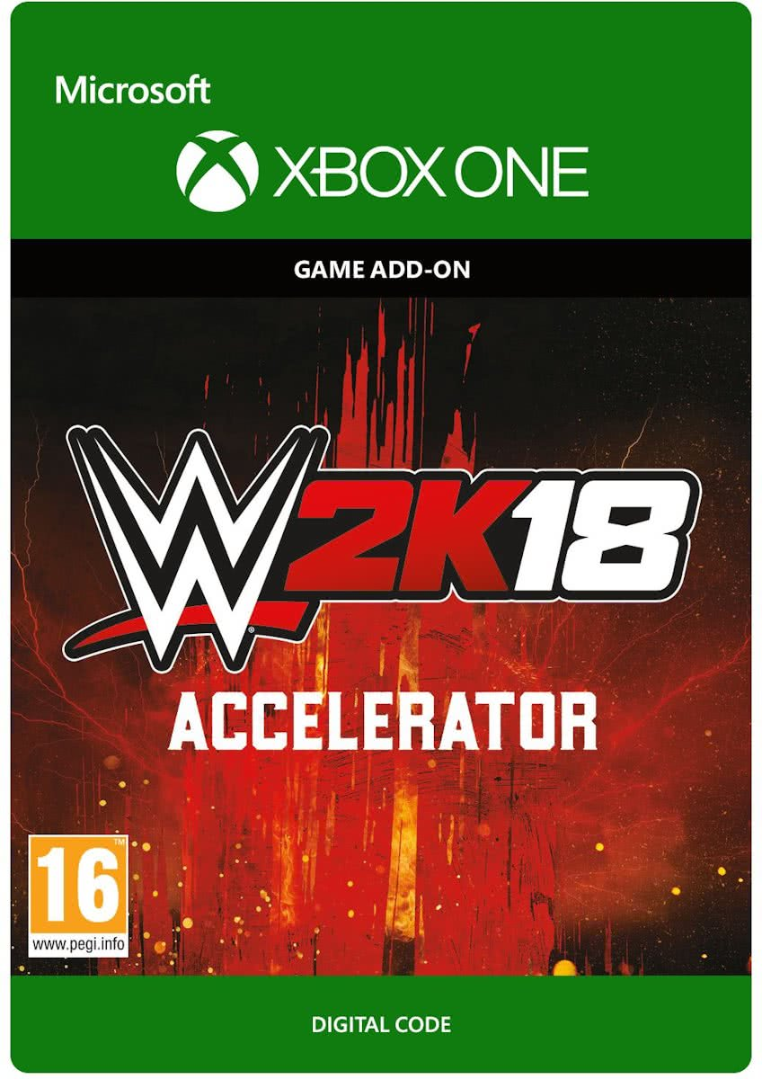 WWE  18: Accelerator - Add-On - Xbox One