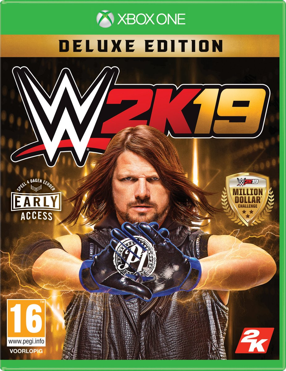 WWE 2K19 -  Deluxe Edition - Xbox One