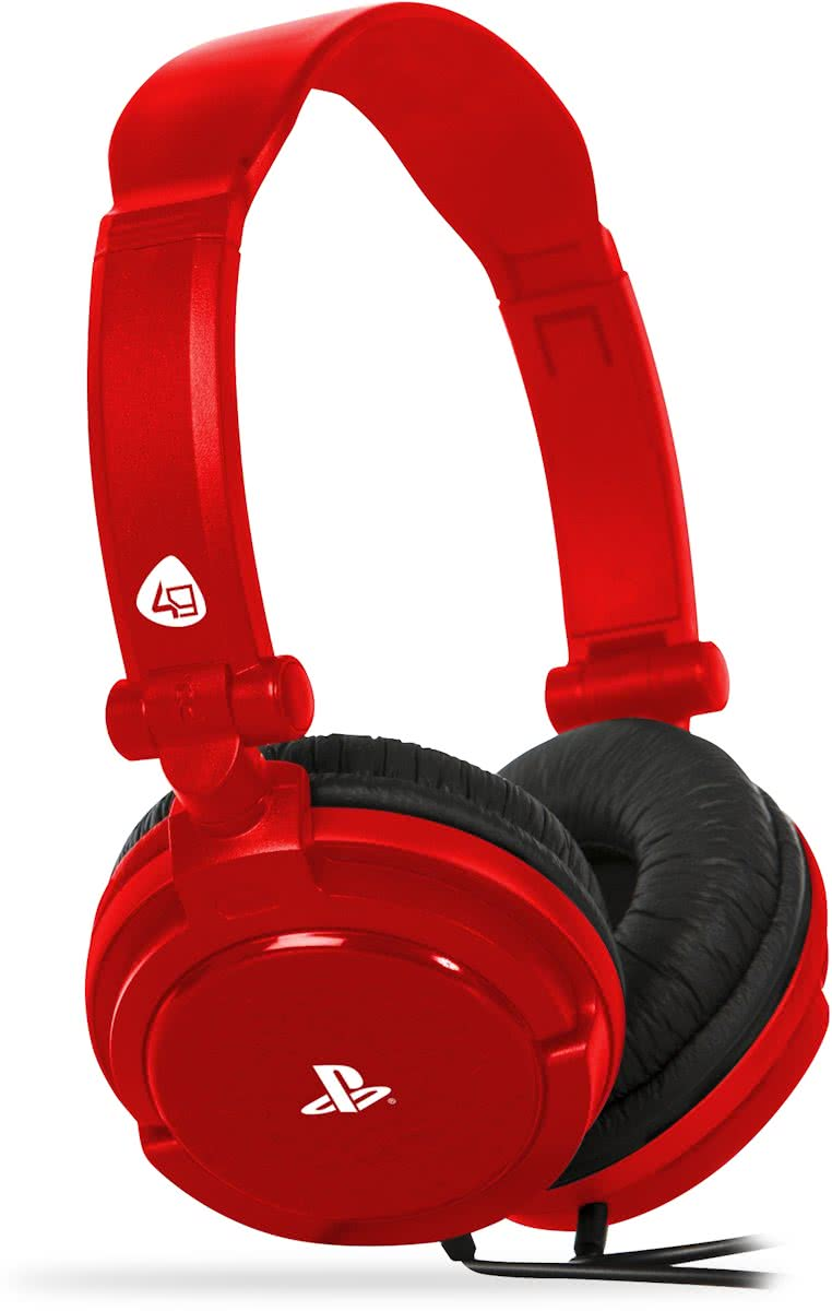 4Gamers PRO4-10 - Gaming Headset - Rood - PS4