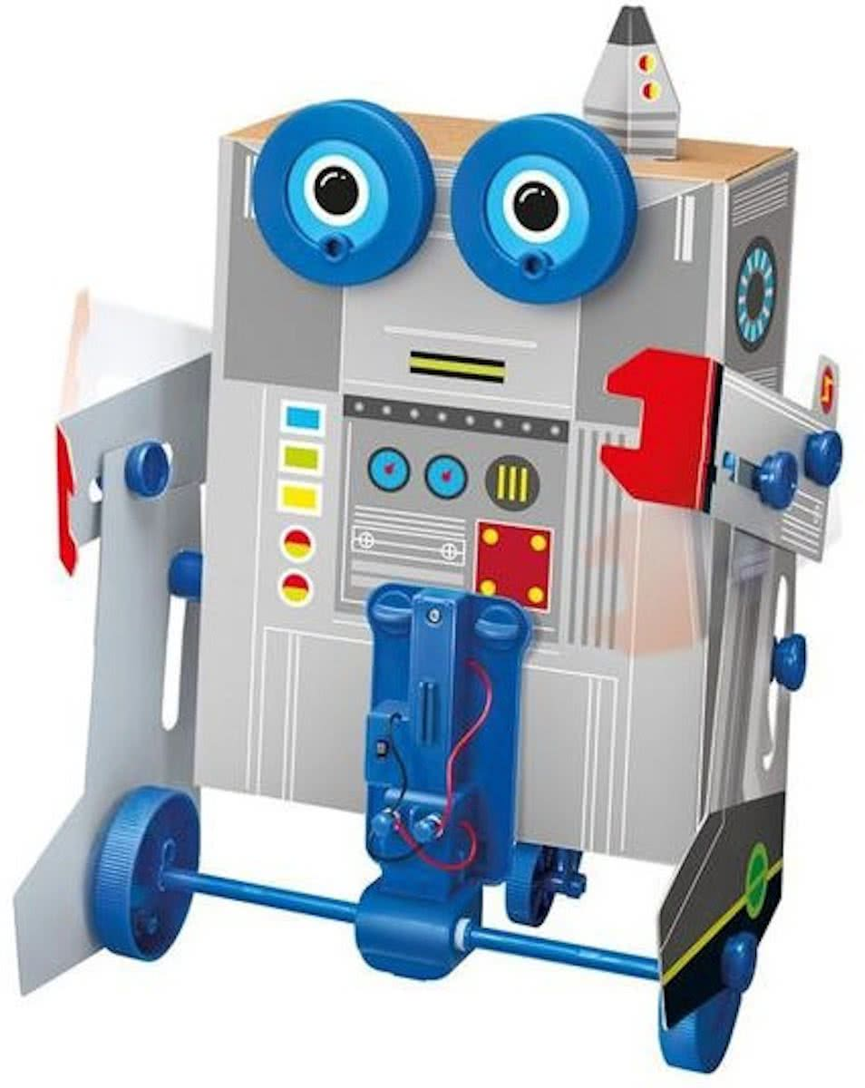 4m Kidzlabs: Green Science Robot Bouwpakket