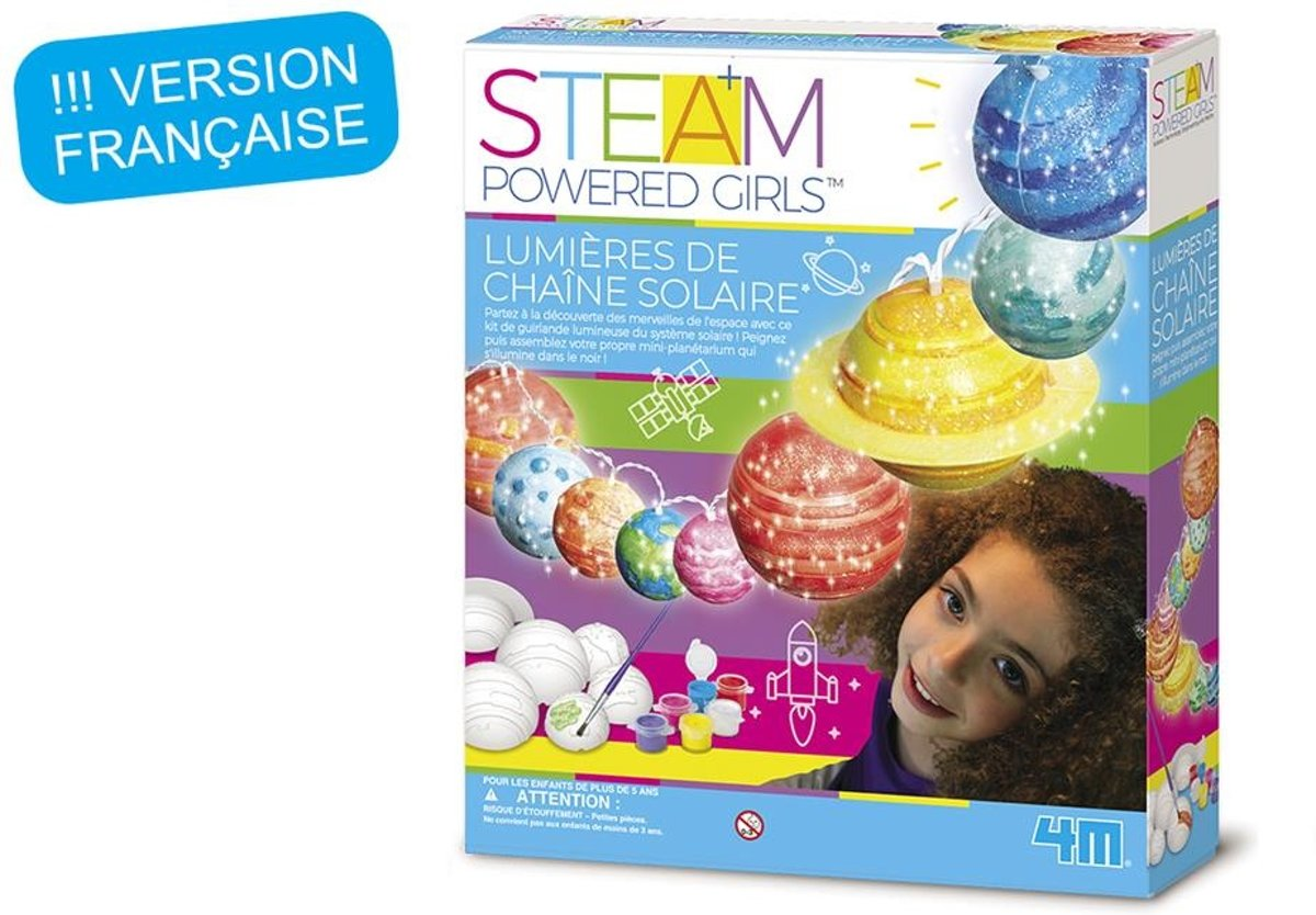 4m Steam Powered Girls Zonnestelselsysteem