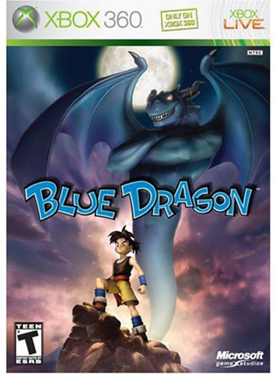 Blue Dragon, Xbox 360 Xbox 360 Engels video-game