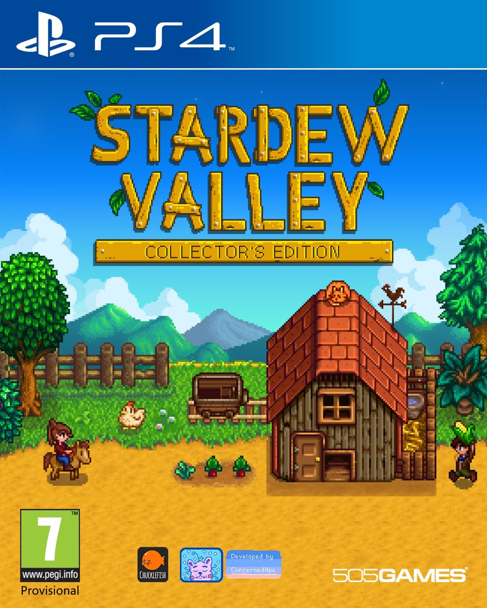 PS4 STARDEW VALLEY COLLECTORS EDITION (EU)
