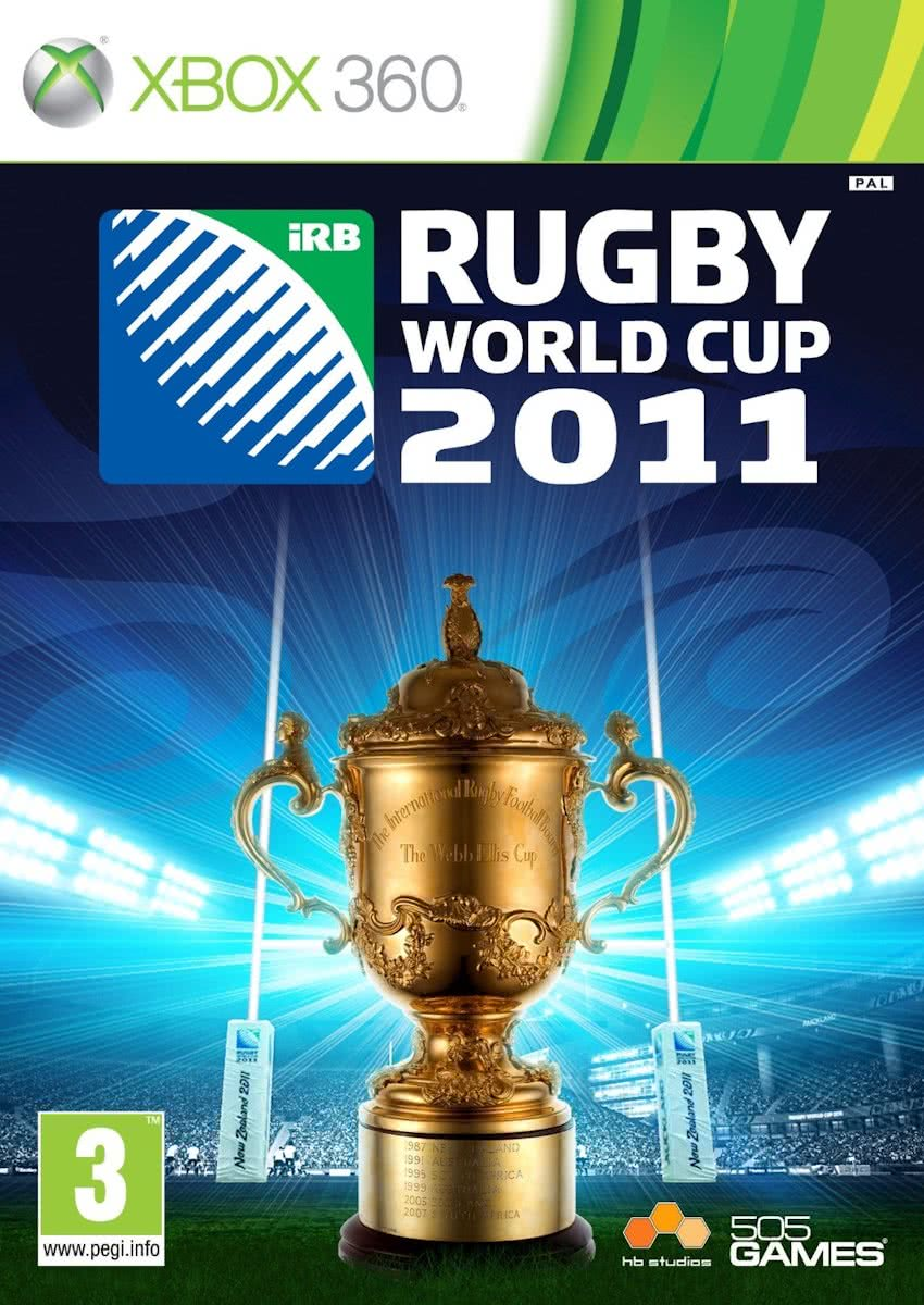 Rugby World Cup 2011 /X360