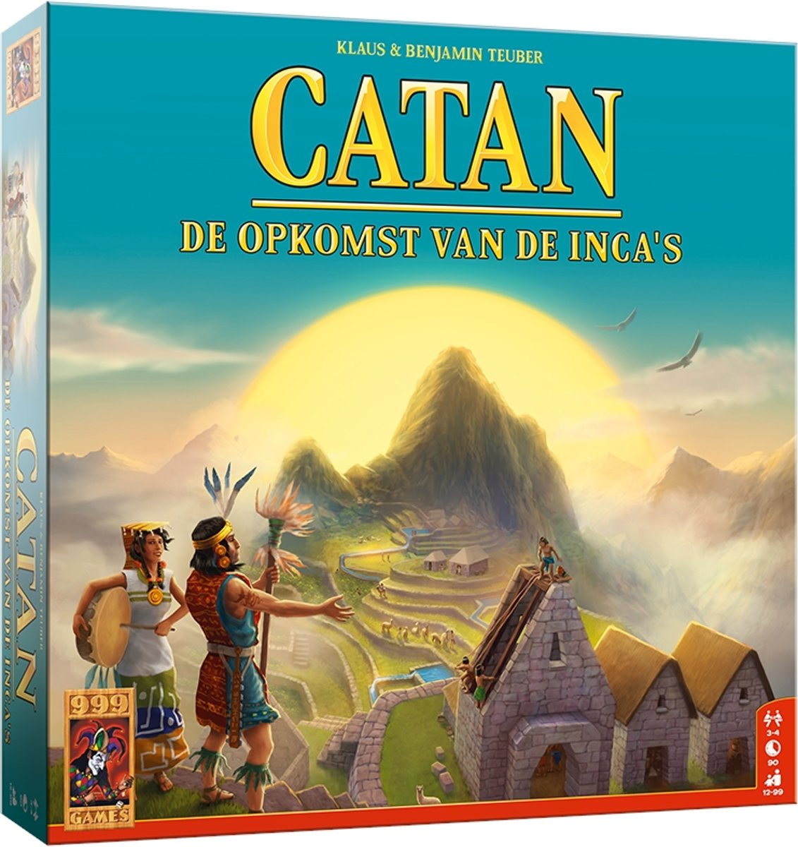 Catan: De Opkomst van de Incas Bordspel