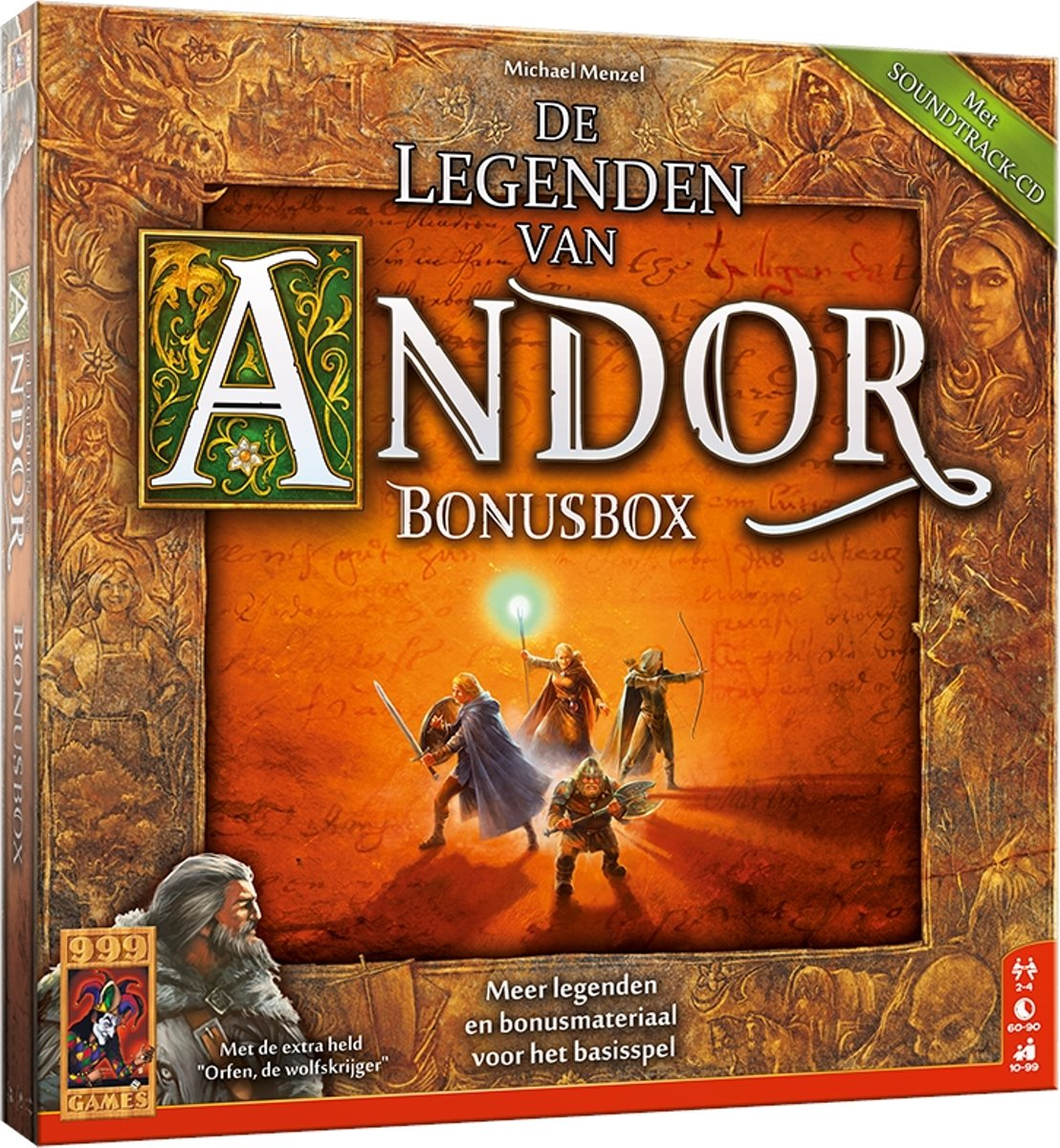 De Legenden van Andor: Bonus Box Bordspel