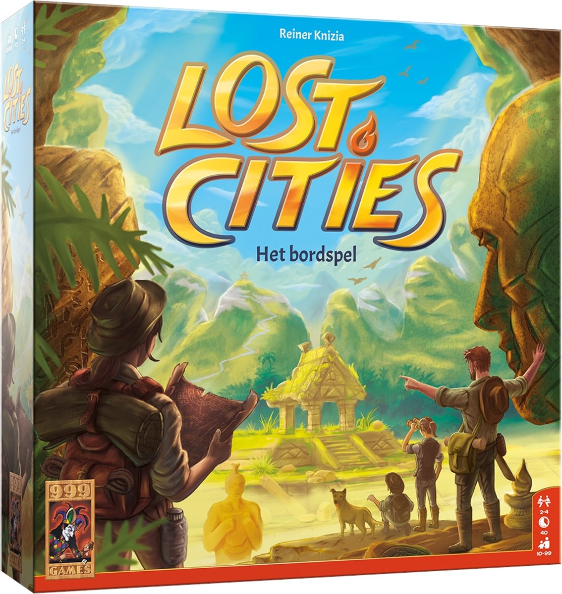 Lost Cities: Het Bordspel Bordspel