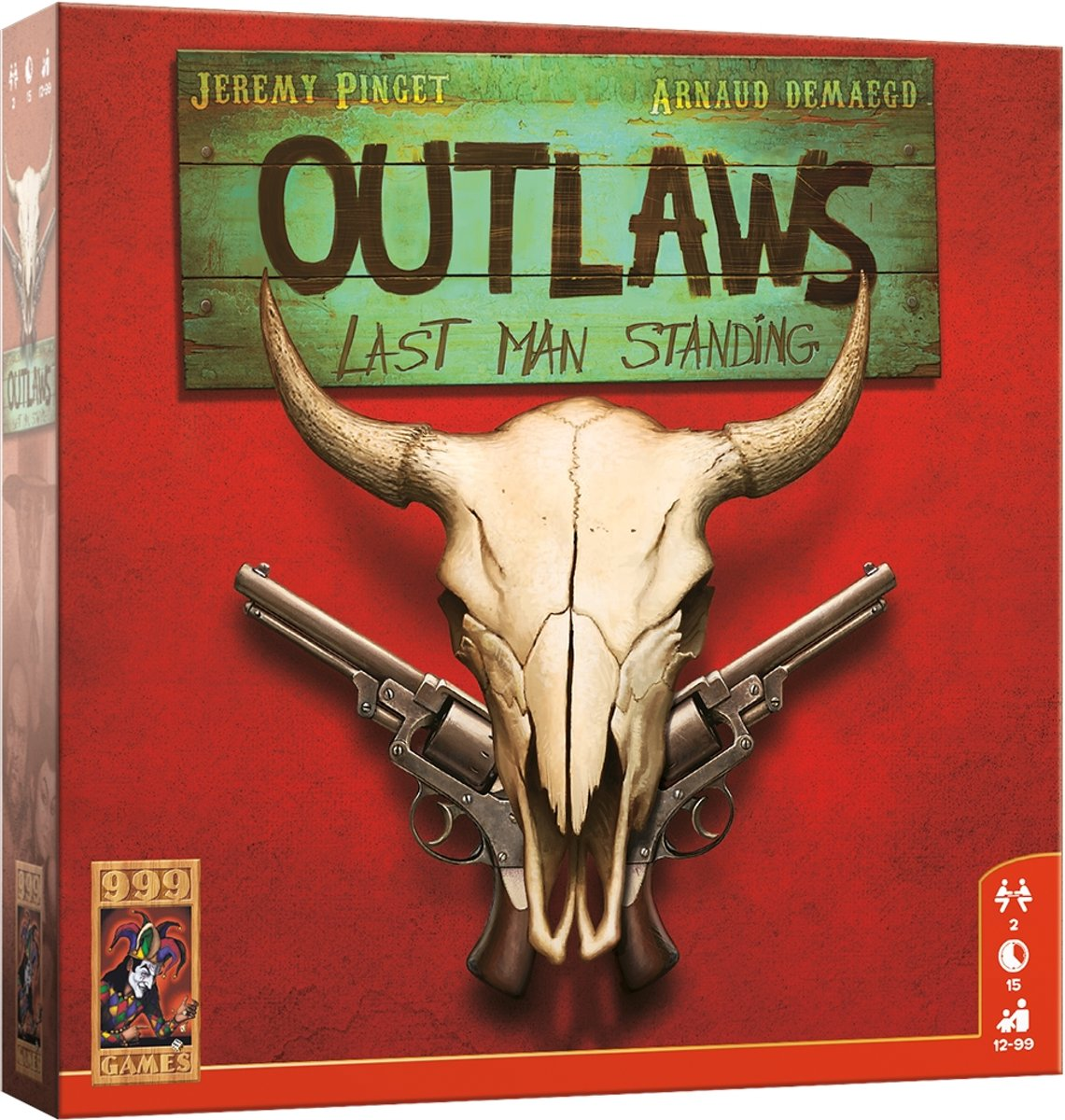 Outlaws Bordspel