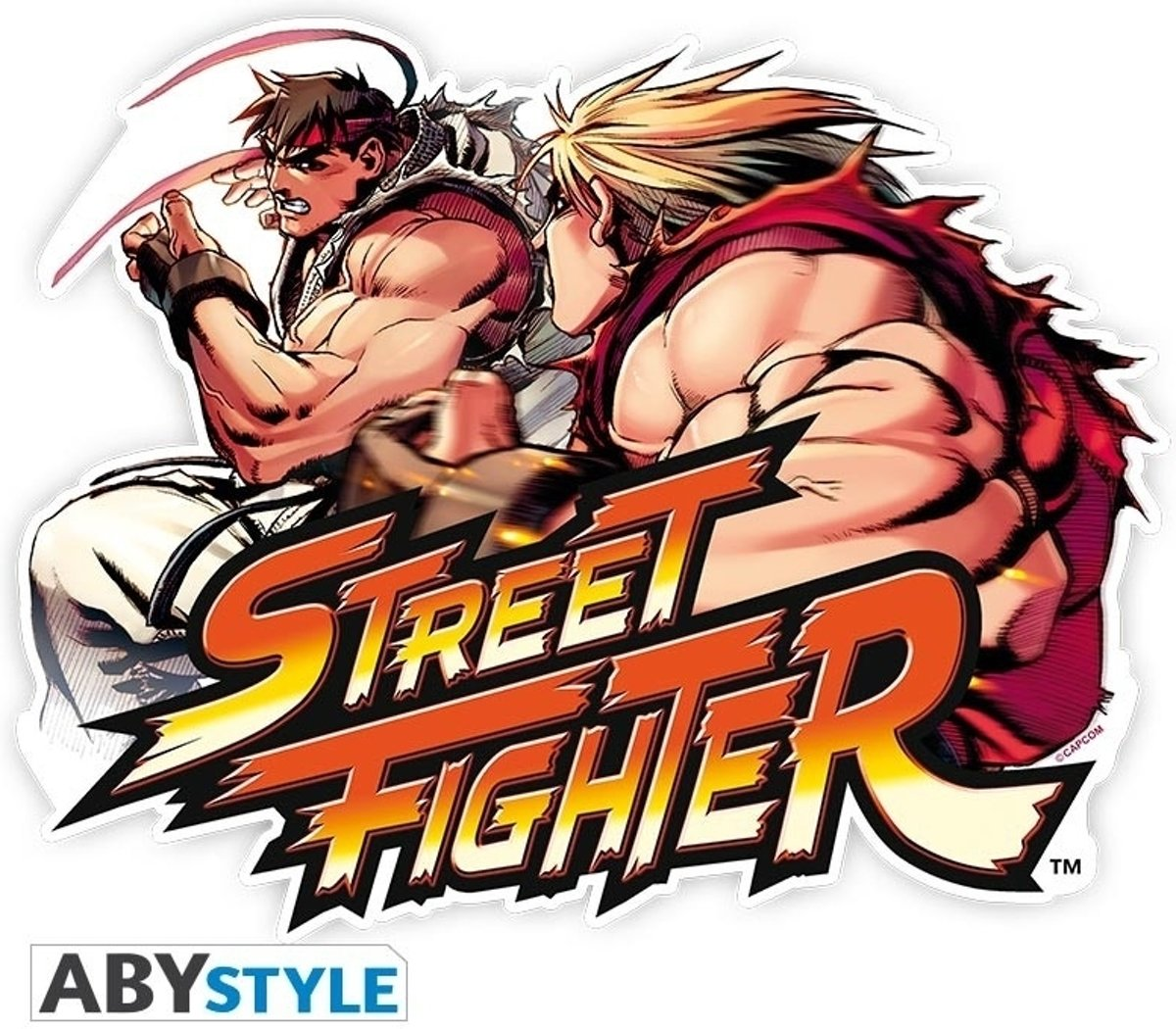 STREET FIGHTER - Mousepad - Ken vs Ryu - in shape