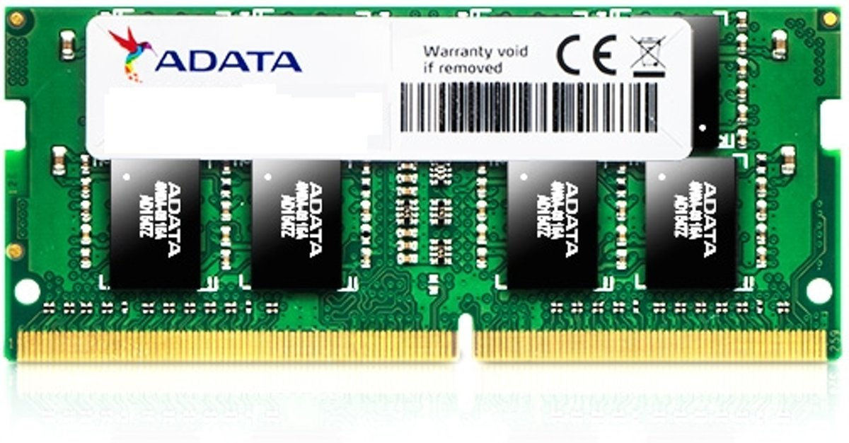 AD4S2400W4G17-S 4GB DDR4 2400MHz geheugenmodule