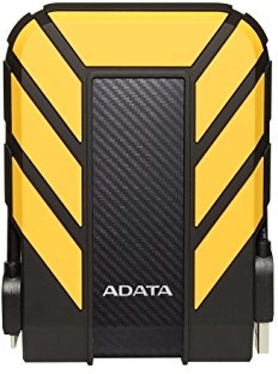 ADATA DashDrive Durable HD710 Professional Externe Harde Schijf 1 TB Geel
