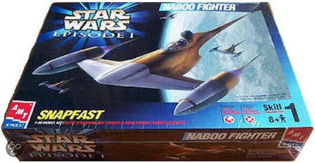 Star Wars Speelgoed: Naboo Fighter Snapfast 1:48 Model Kit
