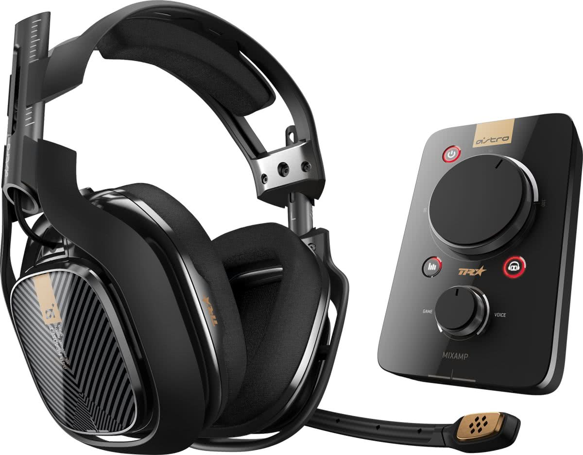 Astro A40 TR - Gaming Headset + MixAmp Pro TR - PC + PS4