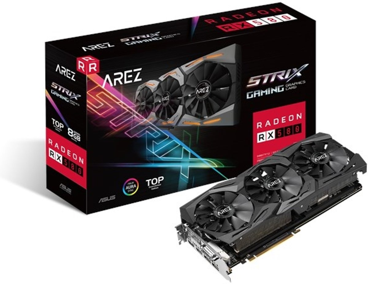 AREZ Strix Radeon RX 580 TOP 8GB
