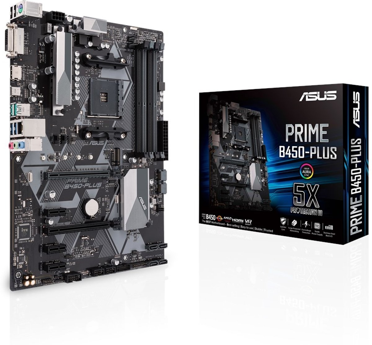 PRIME B450-PLUS AMD B450 Socket AM4 ATX