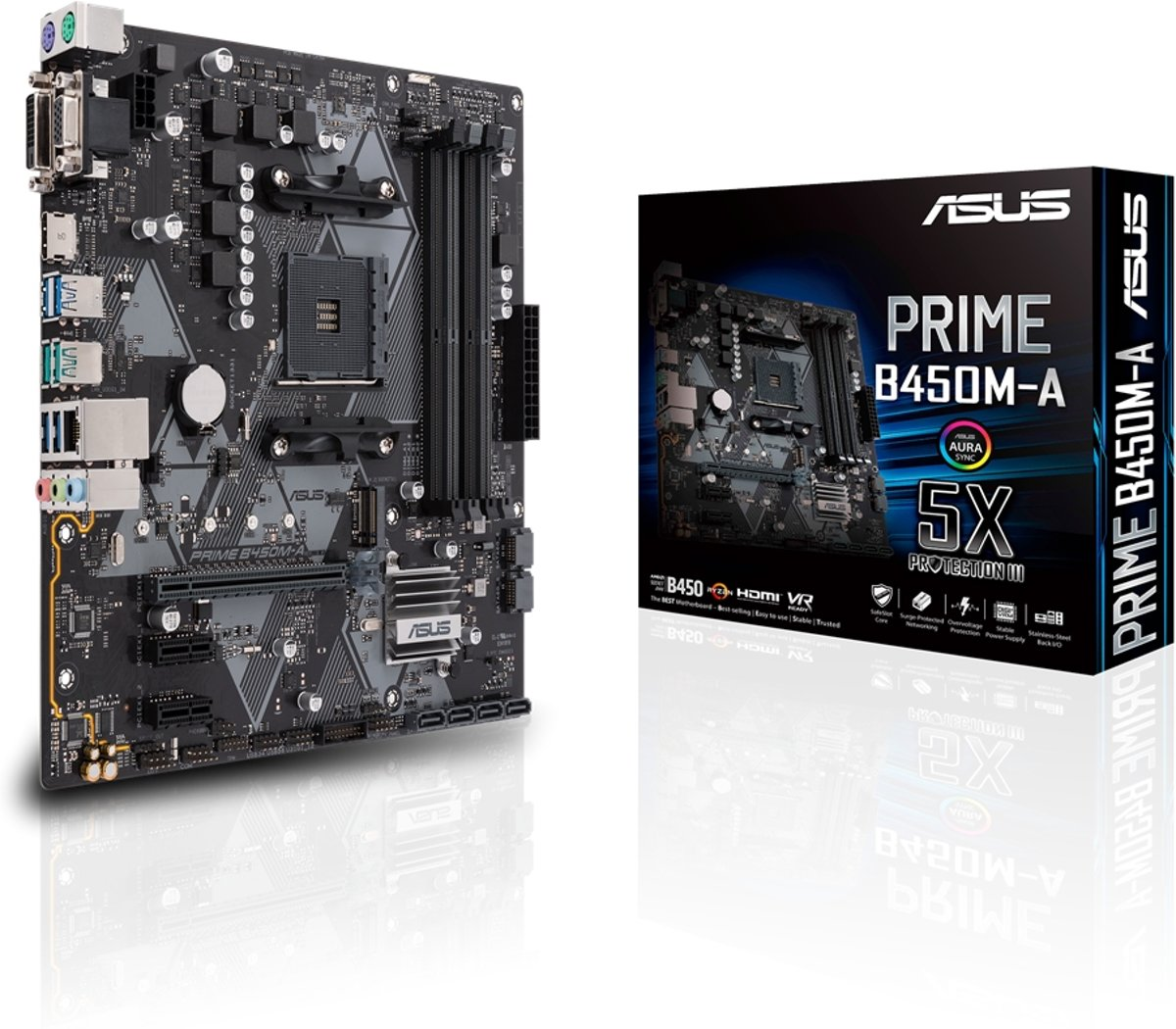 PRIME B450M-A AMD B450 Socket AM4 Micro ATX