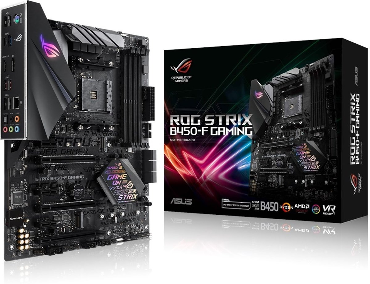 ROG STRIX B450-F GAMING AMD B450 Socket AM4