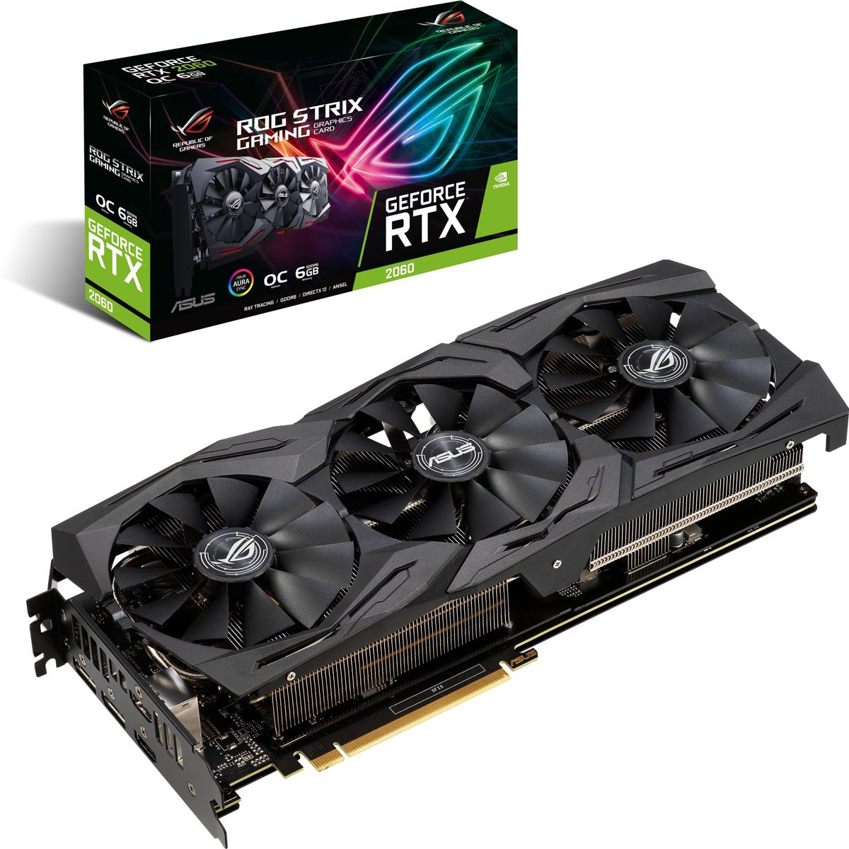 ROG -STRIX-RTX2060-O6G-GAMING GeForce RTX 2060 6 GB GDDR6