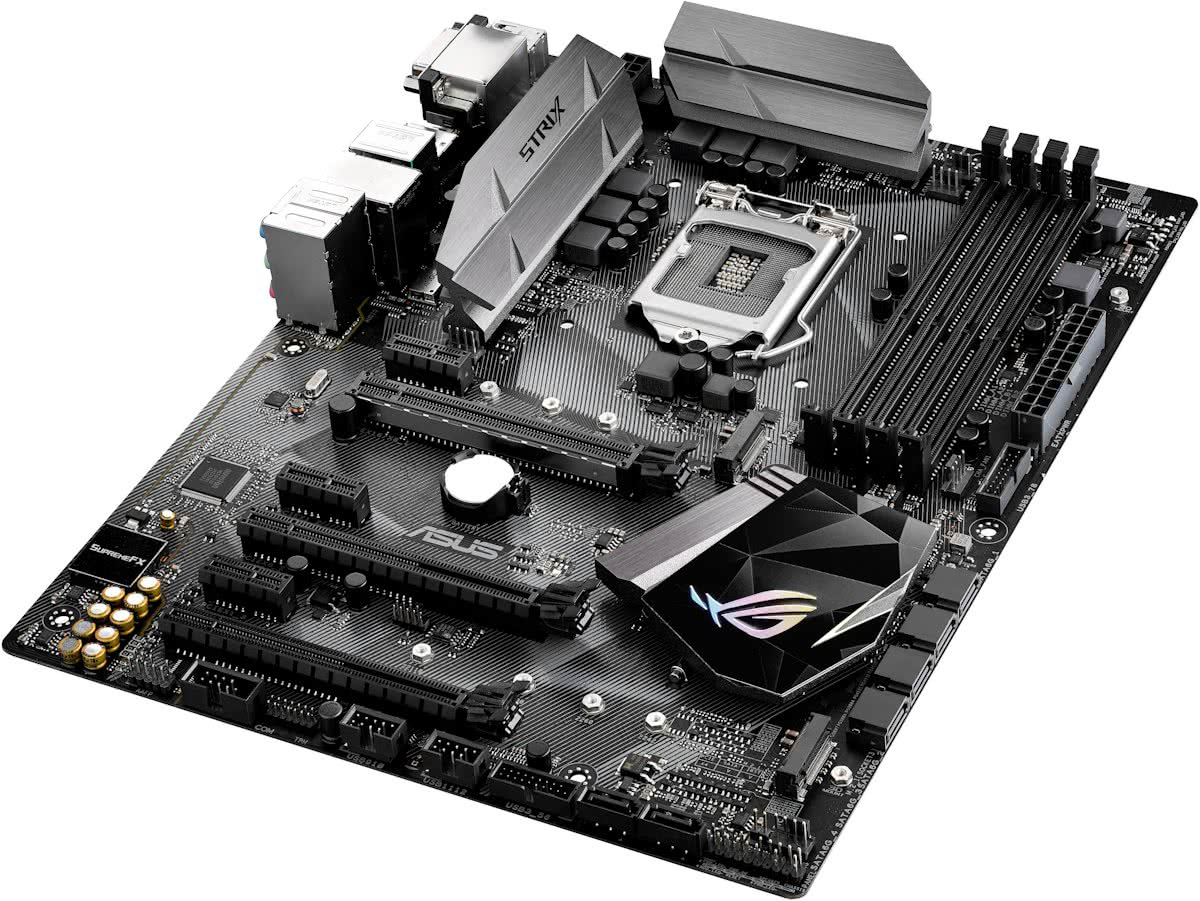 ROG STRIX Z270H GAMING Intel Z270 LGA 1151 (Socket H4) ATX moederbord