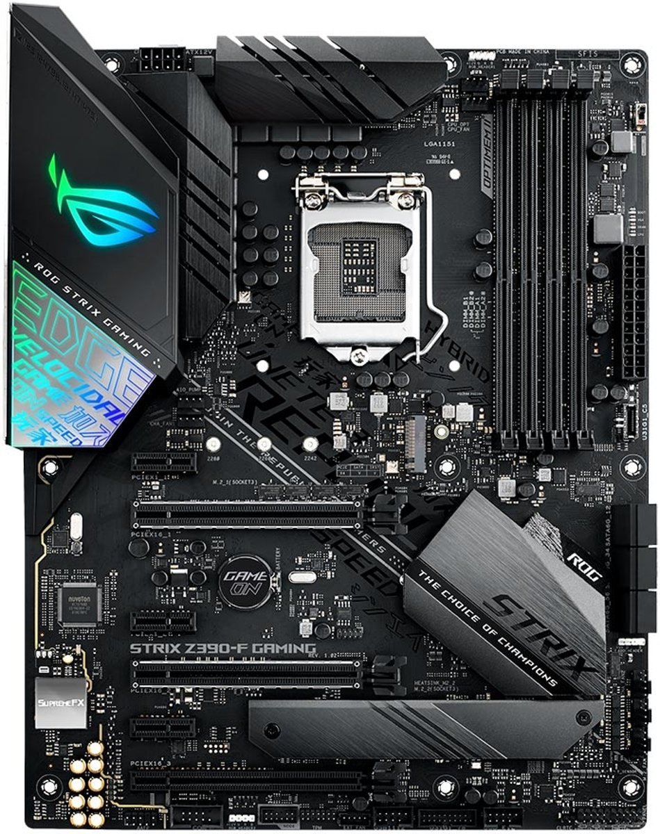 ROG STRIX Z390-F GAMING LGA 1151 (Socket H4) ATX