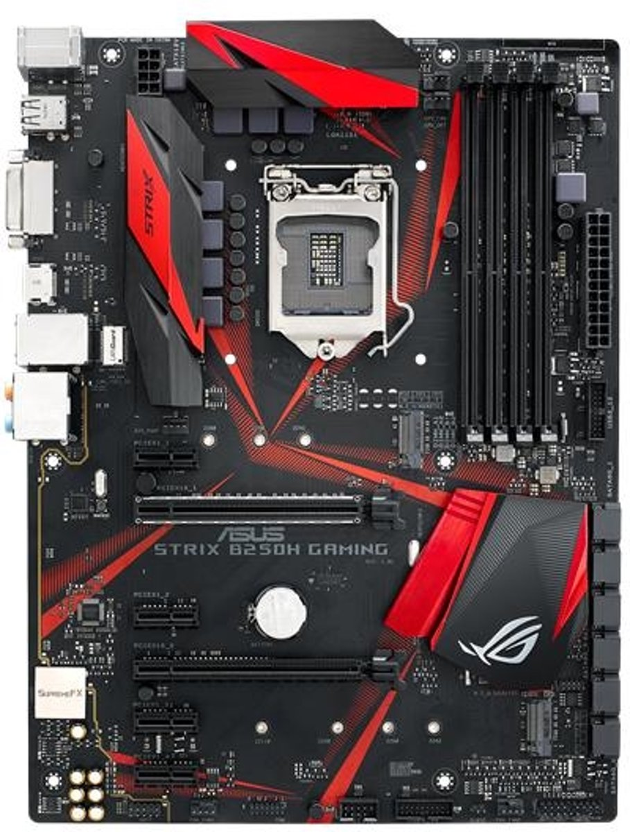 ROG Strix B250H Gaming LGA 1151 (Socket H4) Intel® B250 ATX