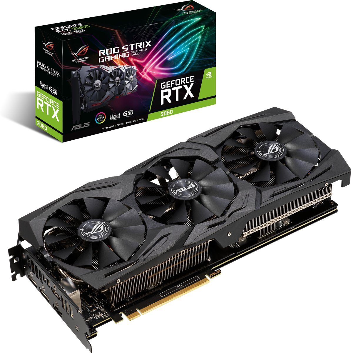 ROG Strix GeForce RTX 2060 Advanced edition Grafische kaart