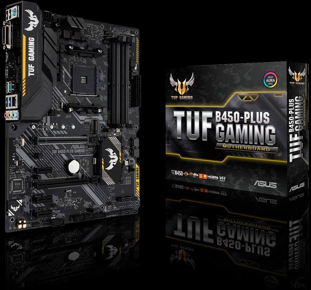 TUF B450-PLUS GAMING AMD B450 Socket AM4 ATX