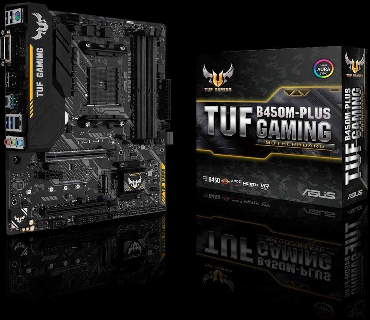 TUF B450M-PLUS GAMING Socket AM4 AMD B450 Micro ATX