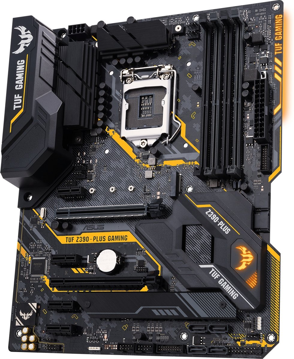TUF Z390-PLUS GAMING LGA 1151 (Socket H4) Intel Z390 ATX
