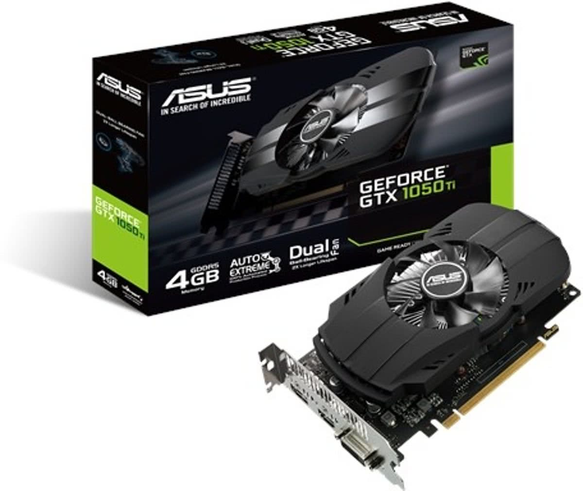 Asus Phoenix GeForce GTX 1050 Ti 4GB