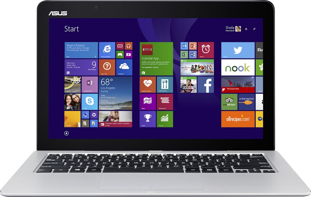Asus Transformer Book T300FA-FE008H - 2-in-1 laptop - 12.5 Inch