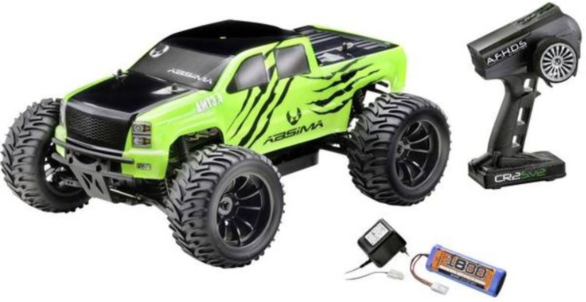 AMT3.4 1:10 Brushed RC auto Elektro Monstertruck 4WD RTR 2,4 GHz