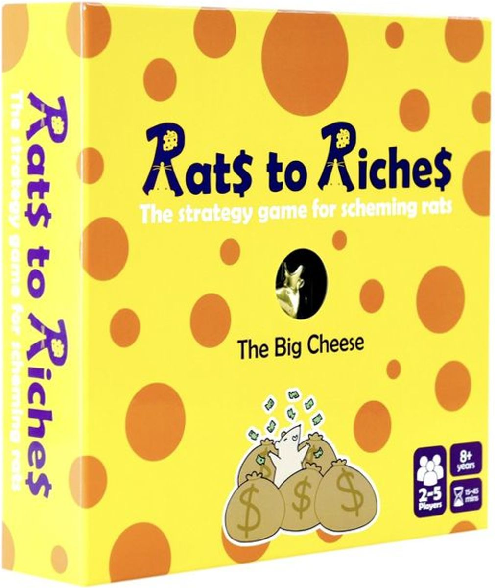 Rats to Riches Bordspel